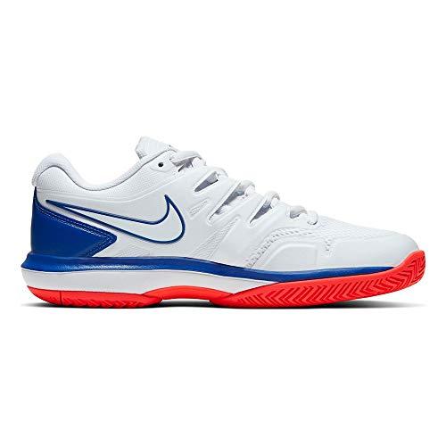 Nike Herren Air Zoom Prestige HC Tennisschuhe, Weiß (White/White-Game Royal-Flash Core 103), 44 EU