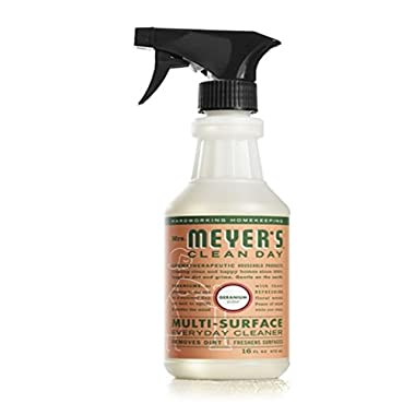 Mrs. Meyers Clean Day, Muti-Surface Everyday Cleaner, Geranium Scent, 16 fl oz (473 ml) - 2pc