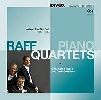 ラフ:ピアノ四重奏曲集 Op.202