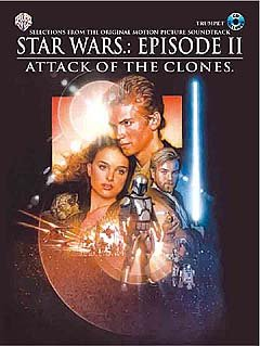 STAR WARS EPISODE 2 - ATTACK OF THE CLONES - arrangiert für Trompete - mit CD [Noten / Sheetmusic] Komponist: WILLIAMS JOHN