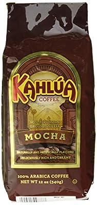 Kahlua Gourmet Ground Coffee, Mocha, 12 Ounce from White House Coffee