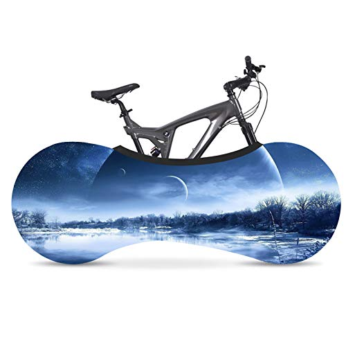 Funda Para Bicicleta, De Alta Elasticidad, Impermeable Y De Secado RáPido Starry Sky Series Funda Para Bicicleta, Adecuada Para Bicicletas De MontañA, De Carretera Y Bicicletas Plegables,#14,160*55cm