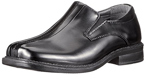 Deer Stags boys Wings Slip-on Loafer, Black, 4.5 M US Big Kid