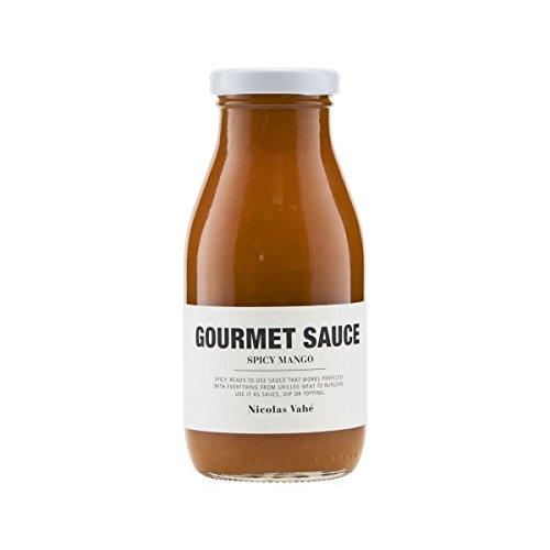 Nicolas Vahé - Gourmet Sauce - 250 ml - Spicy Mango - wunderbar zu Geflügel, Pasta, Garnelen oder Tortilla Chips