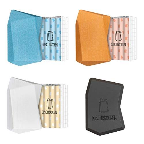 Duschbrocken - 3er Set I inkl. FAIRpackung I 2in1: Festes Shampoo und Duschgel in einem | für Haut und Haare | nachhaltig, vegan und plastikfrei | Höhle der Löwen | 100g