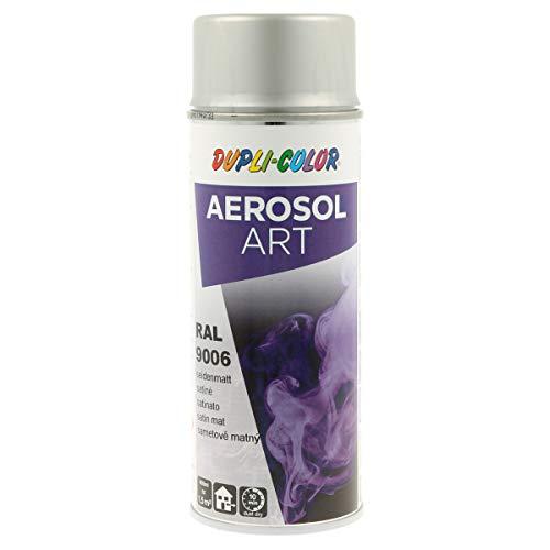 DUPLI-COLOR 741425 silber 400 ml Aerosol Art RAL 9006 seidenmatt