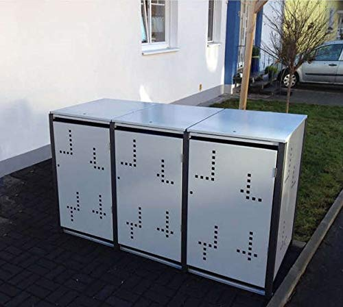 *Metalltechnik Dermbach GmbH Mülltonnenverkleidung Mülltonnenbox Müllboxen Metall*