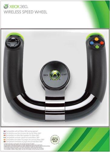 Xbox 360 - Volante Wireless Speed Wheel, Nero
