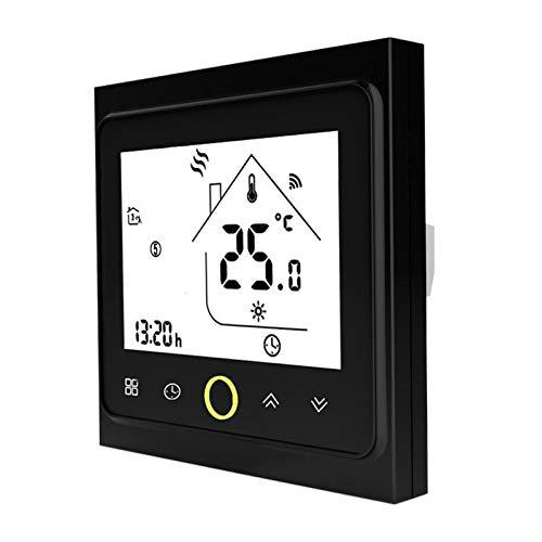 MagiDeal Multifunción WiFi controlado inteligente termostato agua Gas calefacción temperatura controlador APP Control para oficina en casa