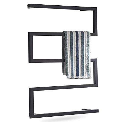 N/Z Inicio Equipamiento Toallero eléctrico tendedero Calefactor-Rejilla de baño Calefactor de baño toallero toallero Cuadrado de Pared 800x600mm línea Dura