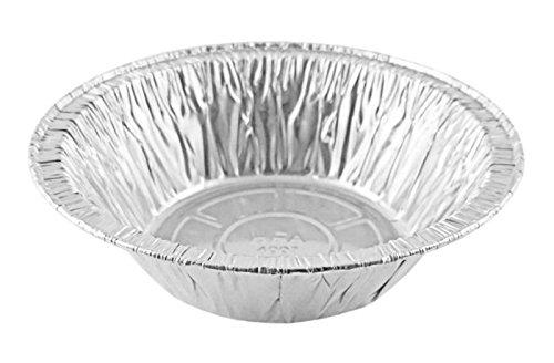 Handi-Foil 5 3/4' 12 oz. Aluminum Foil Meat Pot Pie Disposable Pan - (Pack of 25)