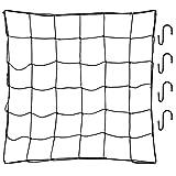 ZJIA Trellis Netting for Grow Tent 4x4 FT Flexible Net Trellis with 4 Steel Hooks