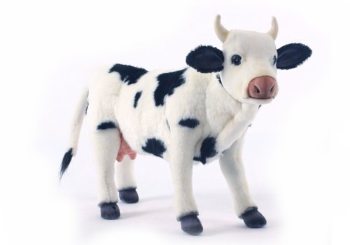 Farm Cow Stuffed Animal by Hansa Toys (English Manual)