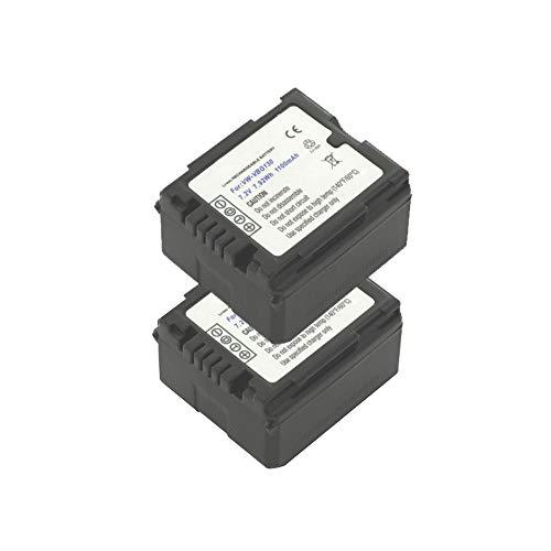 BATTERIA di ricambio con INFO CHIP per Panasonic nv-gs500 gs60