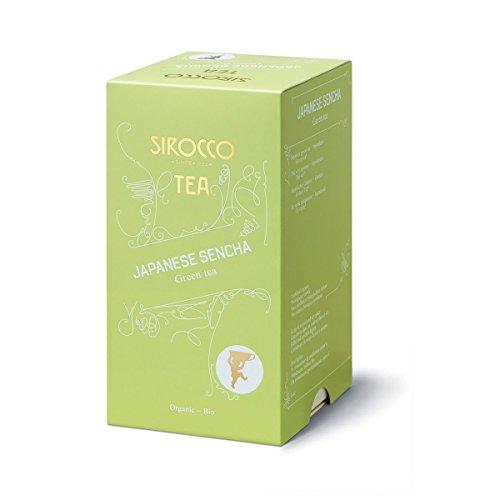 SIROCCO TEE - JAPANESE SENCHA Japanischer Organisches Grüntee - 20 Teebeutel