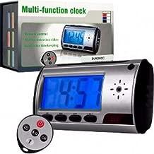 Mini Camera Espia Relógio Despertador Espião Sensor Presen