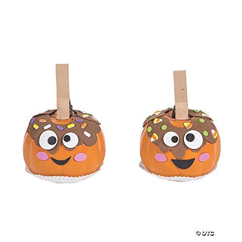 Caramel Apple Pumpkin (CHK) Decorating Craft Kit -  Choki