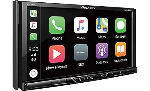 """Pioneer AVH-2400NEX 7"""" Touchscreen Double Din Android Auto and Apple CarPlay In-Dash DVD/CD Bluetooth Car Stereo Receiver (Renewed)"""