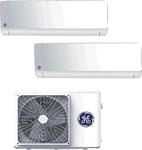 General Electric CONDIZIONATORE GEA 9000+9000 Bianco Classe A+++ Dual Split Future R32