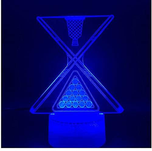 ilusión óptica 3D Deco LED Lámpara Pareja tímida para hombres, mujeres, niños, niñas, regalo Siete cambios de color, con interfaz USB