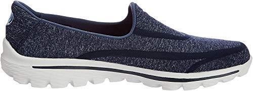 Skechers Super Sock, Zapatillas de deporte para Mujer, Azul (Nvgy), 39 EU