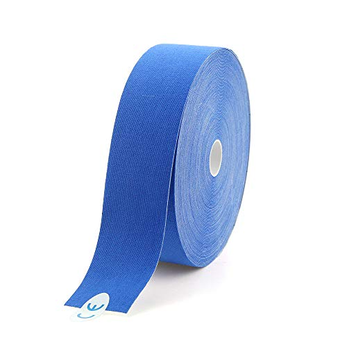 AUPCON Bulk Kinesiology Tape Hypoallergenic Breathable Muscle Sports Tape Therapy Recovery Support for Knee Shoulder Ankle Elbow Shin Neck Splints Latex Free