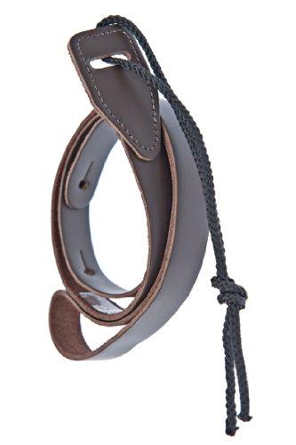 D'Addario Leather Mandolin Strap Brown (75M01)