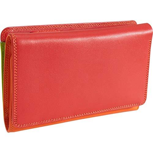 MyWalit Geldbörse Geldbeutel mit Reißverschluss außen Trifold with outer Zip Jamaica 363-12
