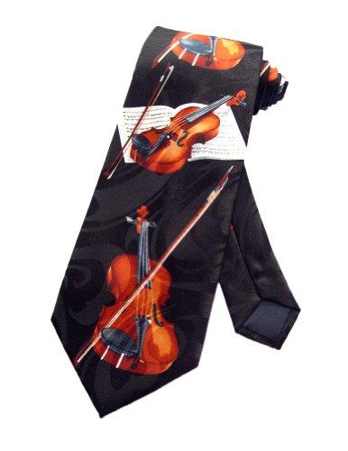 Steven Harris Krawatte für Violine, Viola, Musikinstrument, Einheitsgröße, Schwarz