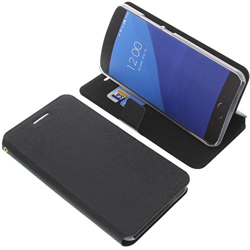 foto-kontor Tasche für UMIDIGI Z Pro Book Style schwarz Kreditkarte Schutz Hülle Buch