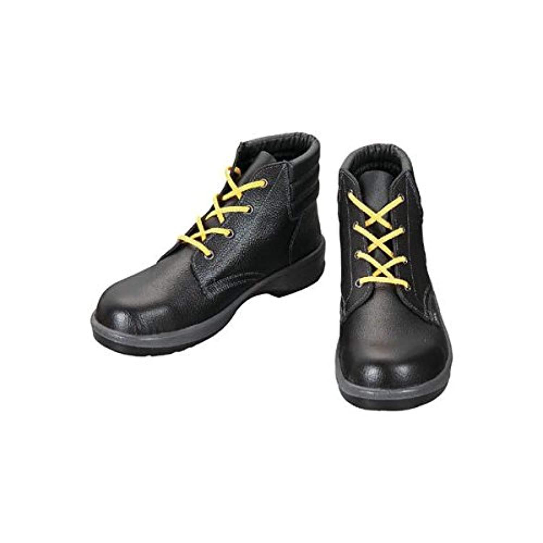 EV02147 静電安全靴 編上靴 7522黒静電靴 27.0cm