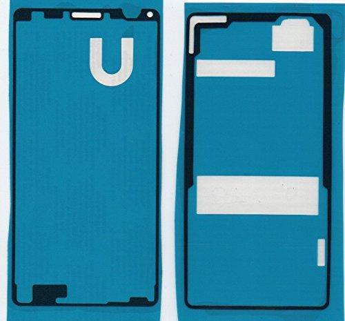 imponic für Sony Xperia Z3 Compact D5803 Kleber, Klebefolie Adhesive für Display und Rückseite