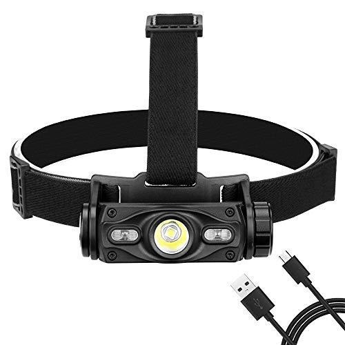 Linterna Frontal USB De Carga L2 Faros Deslumbramiento Aire Libre Que Monta La Linterna LED Del Arnés Amazon Toys