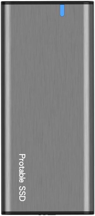 MMcRRx Carcasa M.2 SATA USB C, Caja M.2 SATA NGFF USB C a USB 3.1 GEN1(6Gbps) Adaptador para M.2 SATA SSD [B Key&B+M ] 2230/2242/2260/2280,para PS4 Xbox PC Macbook(Gris Espacial)