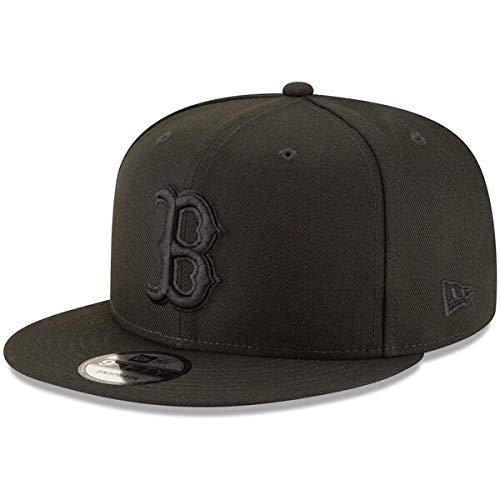 New Era MLB Boston Red Sox Black on Black Snapback Cap 9fifty Limited Edition