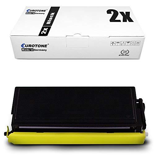 2X Eurotone Toner für Brother HL 1600 1630 1640 1650 1670 1850 1870 5030 5040 5050 5070 PS DX E NLT NE LT DN NTR N ersetzt TN7600