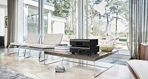 Denon PMA-1600NE Stereo Integrated Amplifier |Up to 140W x 2 Channels | Built-In DAC and Phono Pre-Amp |With Type-B USB Input for High-Res PCM Files |Analog Mode |Advanced Ultra High Current Power