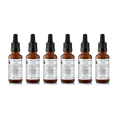 Power Antioxidant Serum – Con 300% más Ácido Ferúlico y Vitaminas C y E. Más FUERTE que el resto, ¡formulado para mayor eficiencia y ahorro! Frasco de 30ml.