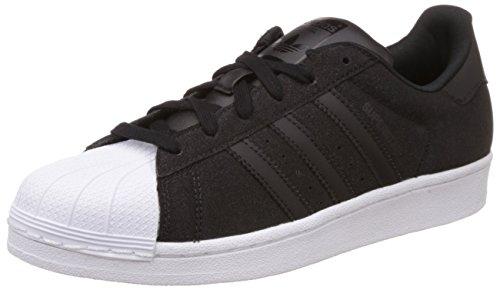 adidas Damen Superstar W Turnschuhe, Schwarz/Weiß (Negbas/Negbas/Ftwbla), 38 EU