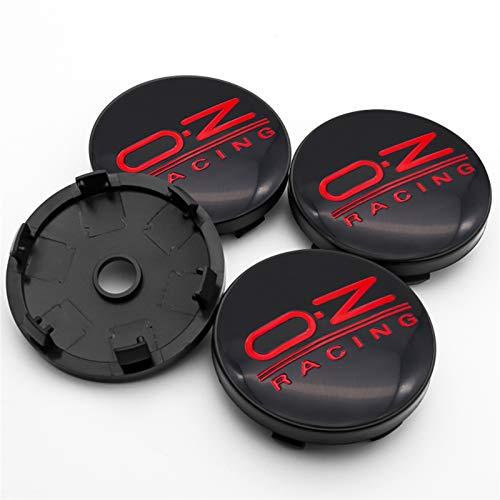 Without Casquillos de Centro Casquillos del Centro de rued For OZ Racing 4pcs 56mm y 60 mm Emblem Wheel Center Caps Caps Badge Cubre el Estilo de automóvil Accesorios de automóviles (Color : H5)