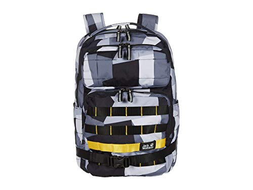 Jack Wolfskin TRT School Pack 20L School Backpack, 360° Reflective, 14' Laptop Pouch, 100% PFC Free