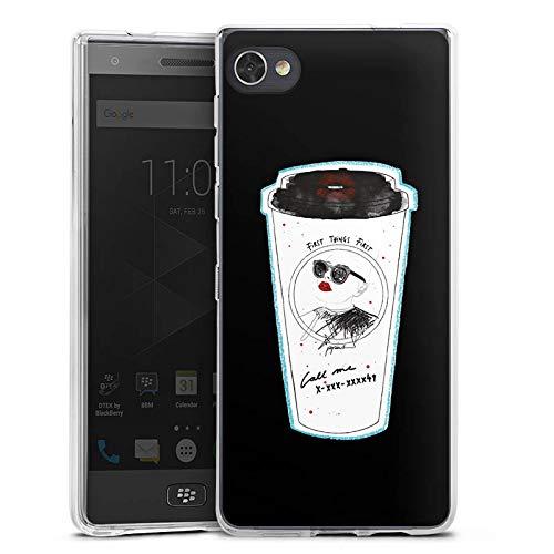 DeinDesign BlackBerry Motion Silikon Hülle Case Schutzhülle Coffee Kaffee Becher