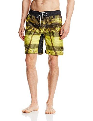 Jack & Jones Tech Herren Schwimmhose Clull Swimshorts, Buttercup, 12101092, Gr. 54 (Herstellergröße: XL)