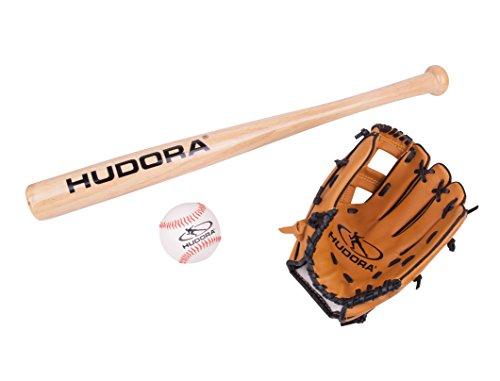 Hudora 73000 - Juego Infantil de Accesorios para béisbol