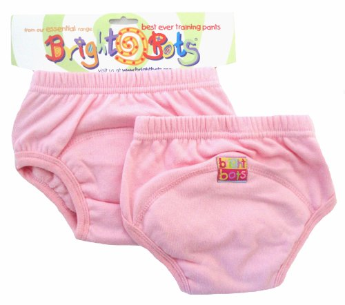 Bright Bots Potty Training Pants Pack de 2 (Rose pâle, Large, Environ 2 ans)...
