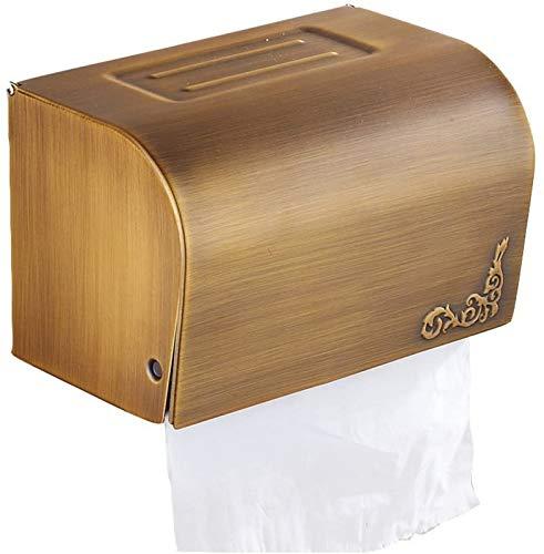 aipipl Soporte para Papel higiénico Cerrado Estante para baño Soporte para Papel higiénico
