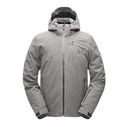 Spyder Mens Cordin GTX Jacket (Wool-Blend-Twill/Black), L