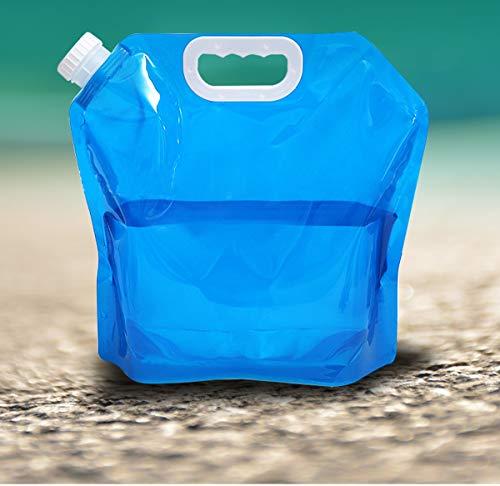 Bidón de agua 10L Bidón Plegable Contenedor De Agua Bolsa De Almacenamiento De Agua Al Aire Libre Tanque De Agua Plegable Cubo De Bebidas Para Cámping Equitación Excursionismo Picnic Viaje Barbacoa