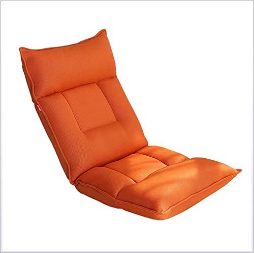 XHLLX Folding Fauler Sofastuhl, Einzelner Stuhl 5-Fach Verstellbare Breathable Ineinander Greifen Ergonomisches Design Geeignet Für Bett-Schlaf Bearing Gewicht 120Kg 115X55x13cm,C