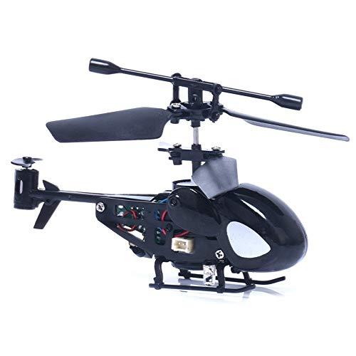 KRCT Micro Mini helicóptero teledirigido de Juguete Recargable 2.4G 3.5 Canal anticaída...